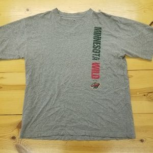 Minnesota Wild NHL T Shirt. AMAZING! Perfect! Wow!